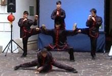 Shaolin Kung Fu Wien Auftritt 20101015