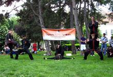 Shaolin Kung Fu Wien beim Südwind Straßenfest 2010